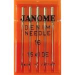 Набор игл Janome Denim