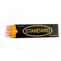 Олівець для розмітки на тканині Standart жовтий