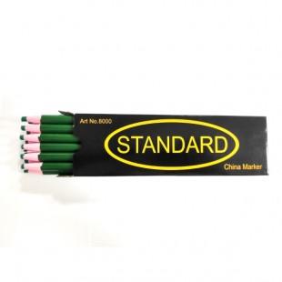 Олівець для розмітки на тканині Standart зелений