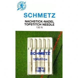 Набор игл Schmetz TopStitch №100