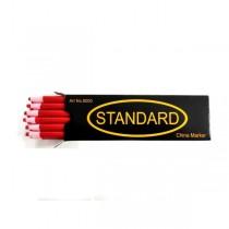 Олівець для розмітки на тканині Standart червоний
