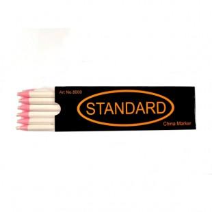 Карандаш для разметки на ткани Standart белый