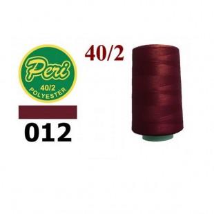 Швейные нитки Peri 4000 ярдов № 012