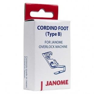 Лапка для вшивания шнуров для оверлоков Janome 200-208-109
