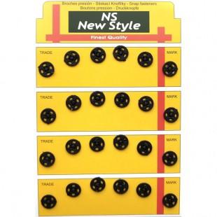 Набір кнопок пришивних чорних 10 мм