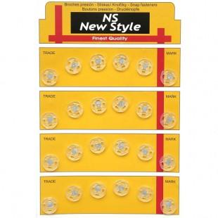 Набор кнопок пришивных прозрачных 10 мм