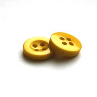 Пуговица 11 мм желтый