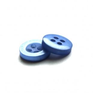 Пуговица 11 мм светло-голубаям
