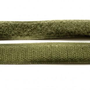 Застібка текстильна хакі 20мм