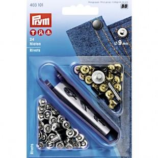 403101 Prym Заклепки металлические 9 мм