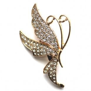 Брошь декоративная бабочка №1