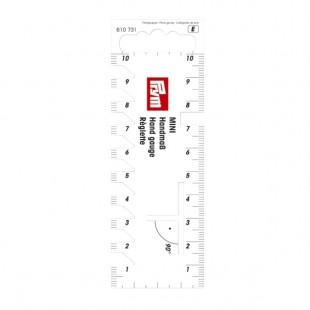 610731 Prym Міні-лінійка для розмітки і вимірювання