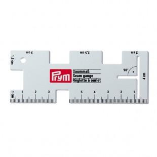 610736 Prym Линейка для разметки припусков, алюминий