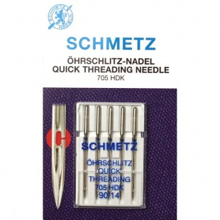Набор игл Schmetz 705 HDK легковдеваемые №90