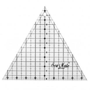 Линейка треугольная для пэчворка 235x203 мм
