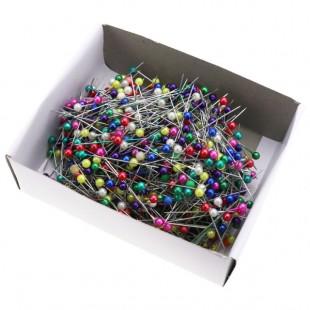 Булавки з пластиковою кулькою ( 800 шт в коробці )