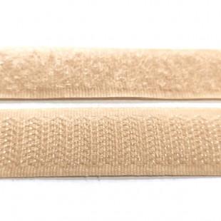 Застежка текстильная беж золотистый 20мм