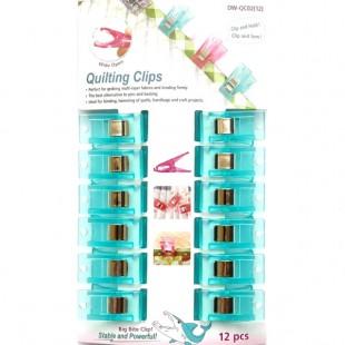 Прищіпки для роботи з тканиною DW-QC02(12)B