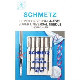 Набор игл Schmetz Super Universal №80
