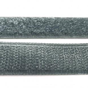 Застібка текстильна синьо-сірий 20мм