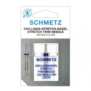 Игла двойная Schmetz Stretch №75/2,5
