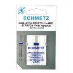 Игла двойная Schmetz Stretch №75/4,0