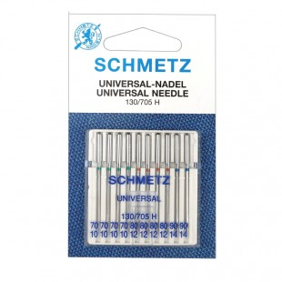 Набір голок Schmetz Universal X №70-90