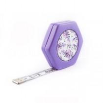 Сантиметр автоматический двусторонний лиловый с магнитом
