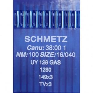 Набір голок Schmetz UY 128 GAS № 100