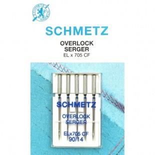 Набір голок Schmetz Overlok CF №90