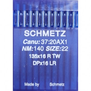 Набор игл Schmetz DP x 16 LR № 140
