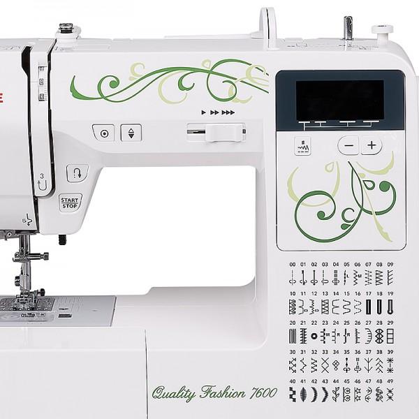 Janome quality fashion qf 7600 seide что это за ткань