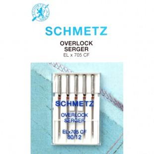 Набір голок Schmetz Overlok CF №80