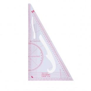 Лінійка-лекало кравецьке трикутник 3220