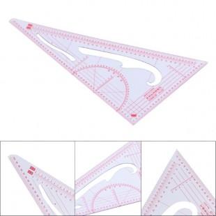 Линейка-лекало портновское треугольник 3220