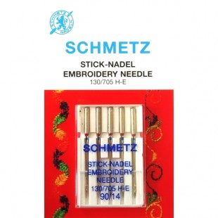 Набор игл Schmetz Embroidery №90
