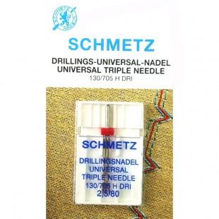 Игла тройная Schmetz Universal №80/2,5