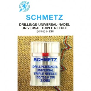 Голка потрійна Schmetz Universal №80/3,0