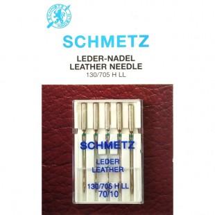 Набір голок Schmetz Leather №70