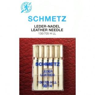 Набор игл Schmetz Leather №90