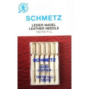 Набор игл Schmetz Leather №120