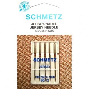 Набор игл Schmetz Jersey №80