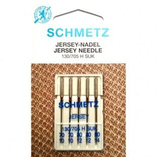 Набор игл Schmetz Jersey №70-90