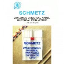 Голка подвійна Schmetz Universal №70/1,6