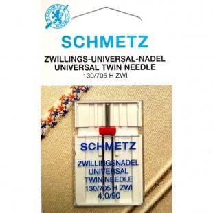 Голка подвійна Schmetz Universal №90/4,0