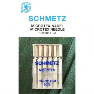 Набор игл Schmetz Microtex №60