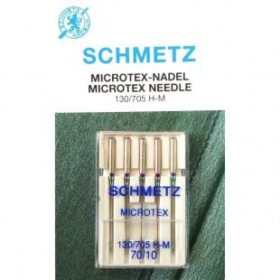 Набір голок Schmetz Microtex №70