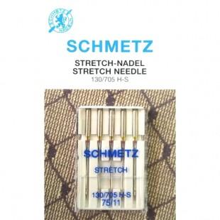 Набор игл Schmetz Stretch №75