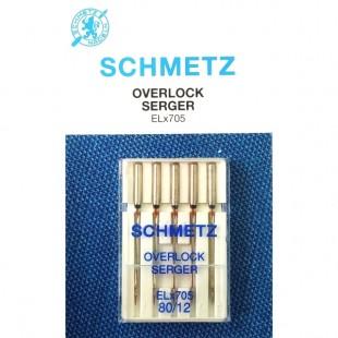 Набір голок Schmetz Overlok №80