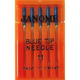 Набор игл Janome Blue Tip №75